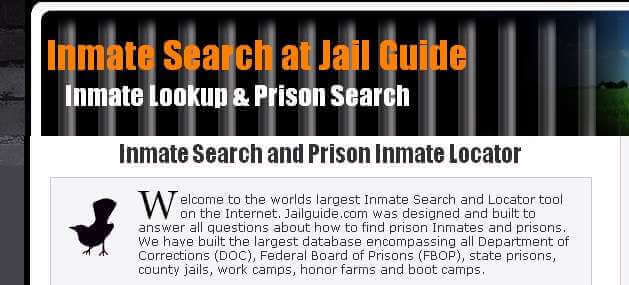 JailGuide Inmate Search