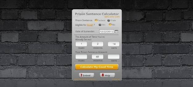 How To Calculate a Prison Sentence